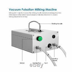 S Smautop 7l Machine De Traite Électrique Pour Vacuum À Vide En Acier Inoxydable De Vache De Chèvre