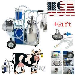 Seau 25l + Cadeau De Vaches De Chèvres De Ferme Laitière De Machine À Traire Électrique D'acier Inoxydable