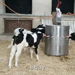 Ston 110v Veau Alimentation Machine Petite Vache Acidifiés Lait Feeder En Acier Inoxydable