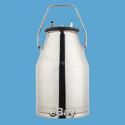 Tambour De Traite De Réservoir De Seau De 25l Milker + Pulsator Pneumatique De L80 Pour Le Ce De Vaches De Ferme