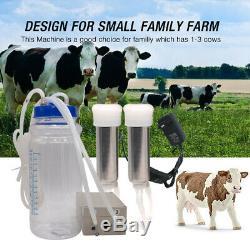 Traire Machine Pour La Vache, Hantop Électrique Pulsation Milker Trayeuse