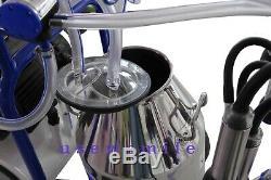 Trayeur Traire Les Vaches Machine 10,5 Gal Pour 2 Vaches 120v 2x Traite