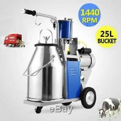 Trayeuse Électrique Pour Les Vaches De Ferme Withbucket Réglable Pioton 25l 1440rpm Us