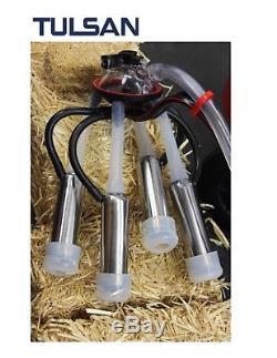 Tulsan, Double Machine À Traire De Vache, Seaux Portatifs Électriques Et Essence 2