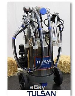 Tulsan, Double Machine À Traire De Vache, Système De Traite Électrique Portatif Complet