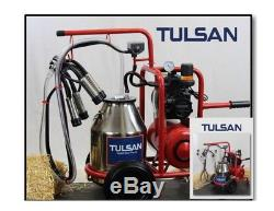 Tulsan, Machine À Traire De Chèvre / Vache Hybride, Portatif Électrique. Vaches Laitières Et Chèvres