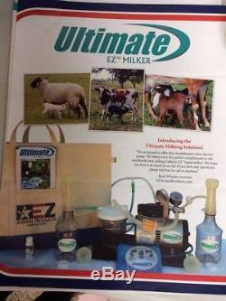 Udderly Ez Electric Milker Pour Chèvres, Vaches Ou Chevaux