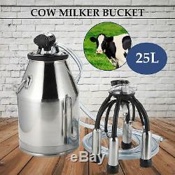 Vache Laitière En Acier Inoxydable 25l