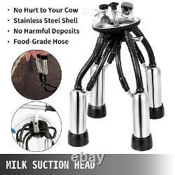 Vevor Électrique Machine À Traire, Milker Machine 25l, Traite Des Vaches Machine